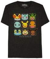 Pokemon Men's Friendly Faces T-Shirt - Black