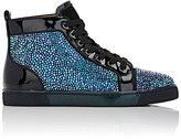 Christian Louboutin Men's Louis Flat Sneakers-BLACK