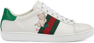 Gucci Women's Ace sneaker with kitten