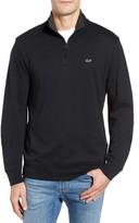 Vineyard Vines Men's Quarter Zip Cotton Jersey Pullover
