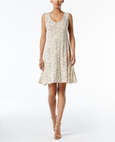 Style&Co. Style & Co Petite Printed Swing Dress, Only at Macy's