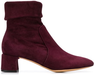 Parallèle Suede Ankle Boots