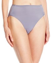 Warner's Women's No Wedgies No Worries Hi Cut Brief Panty