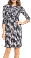 Eliza J Women's Print Sheath Dress