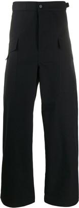 Bottega Veneta Wide-Leg High-Waisted Trousers