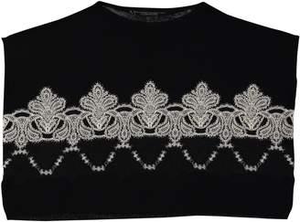 Ermanno Scervino Black Cashmere Knitwear