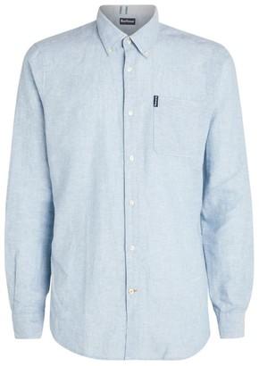 Barbour Linen-Cotton Miltan Oxford Shirt