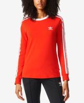 adidas 3-Stripes Long-Sleeve Top