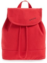 State Bags Park Slope Hattie Canvas Backpack - Red