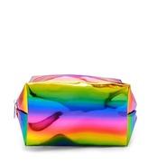 Forever 21 FOREVER 21+ Metallic Rainbow Makeup Bag