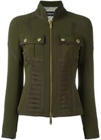 DSQUARED2 bustier detail military jacket