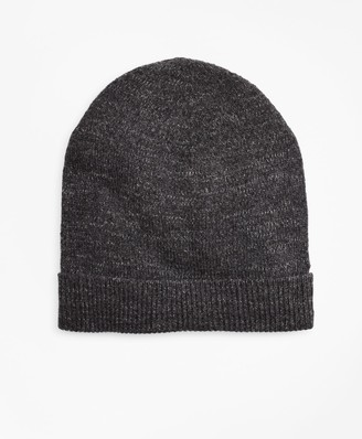 Brooks Brothers Ribbed Marled Wool Hat