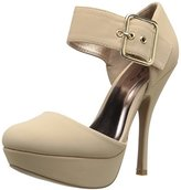 Qupid Women's ONYX-263 D'Orsay Pump