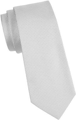 Armani Collezioni Micro-Dot Silk Tie