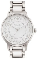 Kate Spade Women's 'Gramercy' Scalloped Dial Bracelet Watch, 34Mm