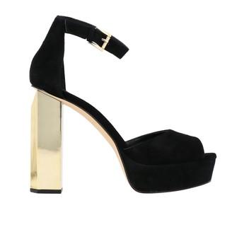 MICHAEL Michael Kors Petra Suede Sandal With Platform