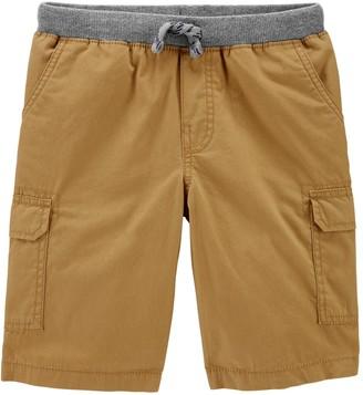 Carter's Boys 4-14 Pull-On Cargo Shorts