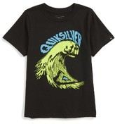 Quiksilver Toddler Boy's Wave Punch Graphic T-Shirt
