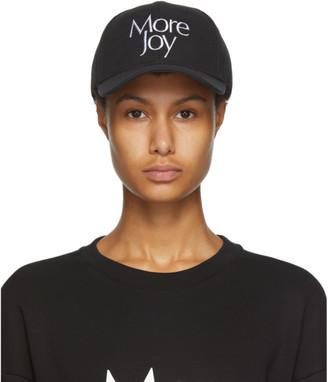 More Joy Black Logo Cap