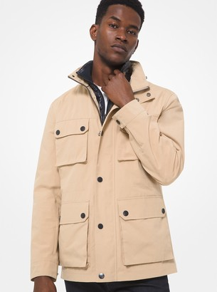 Michael Kors 3-in-1 Cotton Blend Field Jacket