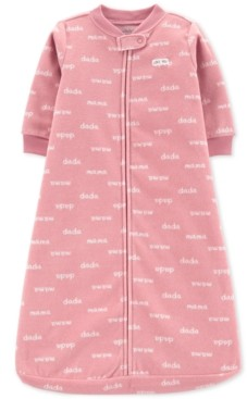 Carter's Baby Girls Printed Microfleece Sleep Bag