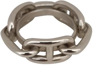 Hermes Silver Steel Scarves