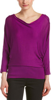 Josie Natori Silk Sweater