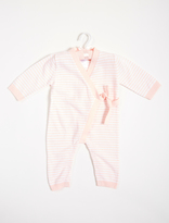 A Pea in the Pod Elegant Baby Striped Knit Jumpsuit