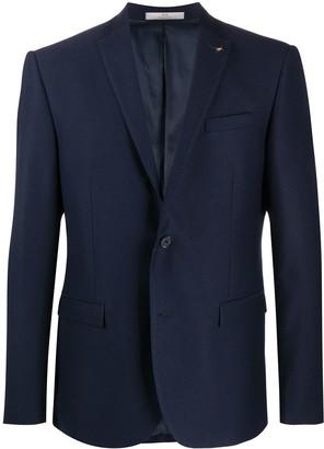 Corneliani Textured Single-Breasted Blazer