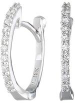 Roberto Coin Perfect Diamond Huggy Earrings Earring