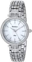 Swarovski Armitron Women's 75/5252MPSV Crystal-Accented -Tone Bracelet Watch
