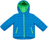 Carter's Blue Quilted Long-Sleeve Hooded Coat - Toddler 2-4T