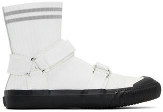 Y's Ys White Sock Sneakers