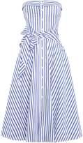 Polo Ralph Lauren Strapless stripe casual dress