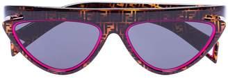 Fendi FF motif cat eye sunglasses