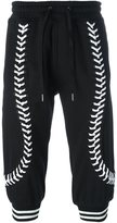 Kokon To Zai laced up cropped trousers