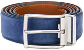Santoni classic belt - men - Suede - 110