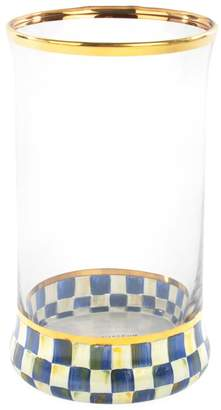 Mackenzie Childs Royal Check Highball Glass