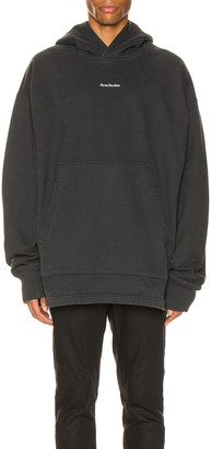 Acne Studios H Stamp Sweatshirt in Black | FWRD