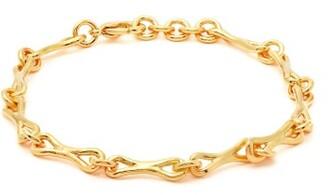 Joelle Gagnard Kharrat - Linked Gold Plated Ankle Bracelet - Womens - Gold