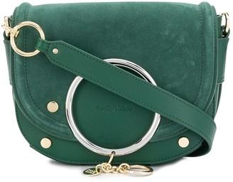 See by Chloe Mara ring-embellished crossbody bag