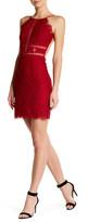 NBD Open Back Lace Halter Dress