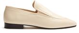 Joseph Almond-toe leather loafers