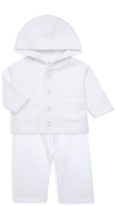 Royal Baby Baby's Quilted Hood & Pant Set