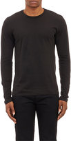 Barneys New York MEN'S BASIC LONG-SLEEVE T-SHIRT