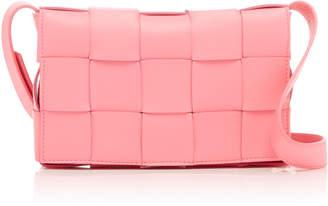 Bottega Veneta Cassette Intreccio Leather Shoulder Bag