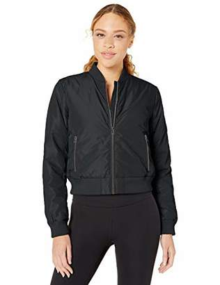 Core 10 Isulated Puffer Cropped Bomber Jacket Insulated,Large / 12-14