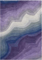 Horchow Wave Pattern Rug, 8' x 10'