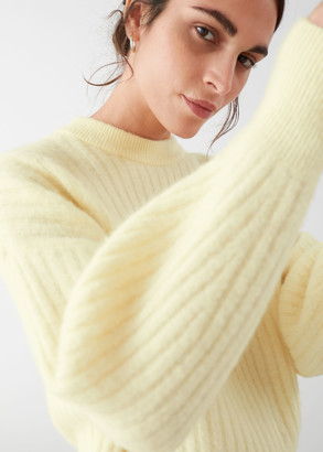 And other stories Alpaca Blend Knit Sweater