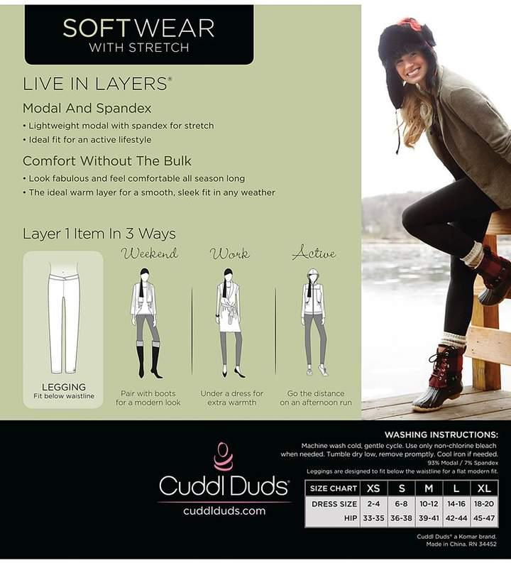 Cuddl Duds Softwear Stretch Leggings